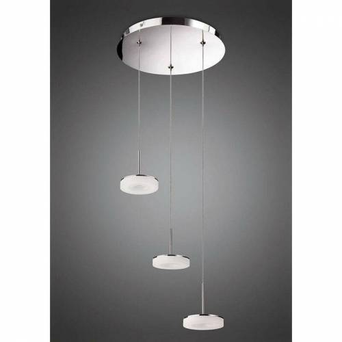 09-diyas - Pendelleuchte 3 Lampen Nimbus 15W LED 3000K, 1350lm,