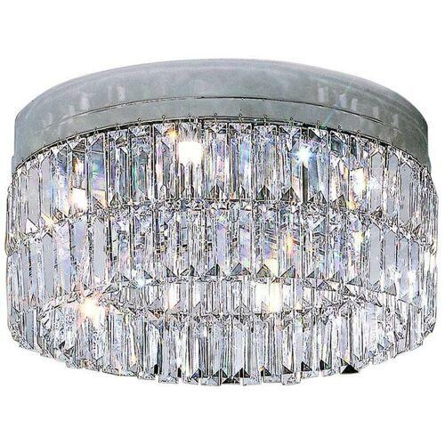 14-KOLARZ PRISMA Kristall Design Deckenleuchte Chrom 6 Lampen