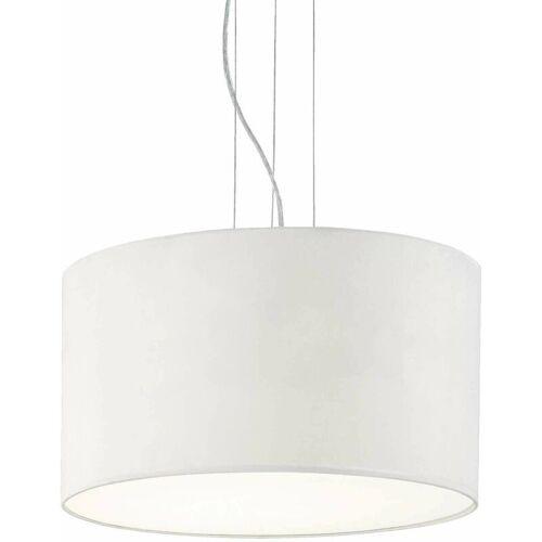 01-IDEAL LUX RAD weiße Pendelleuchte 5 Glühbirnen