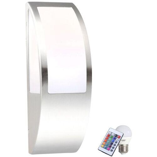 ETC-SHOP Lampe Außenlampe Wandlampe RGB LED Lampe IP44 Leuchte