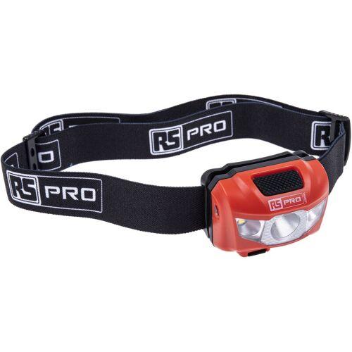 RS PRO LED Stirnlampe, 250 lm Akku - Rs Pro