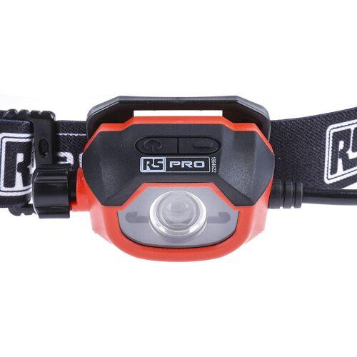 RS PRO LED Stirnlampe, 450 lm Akku - Rs Pro