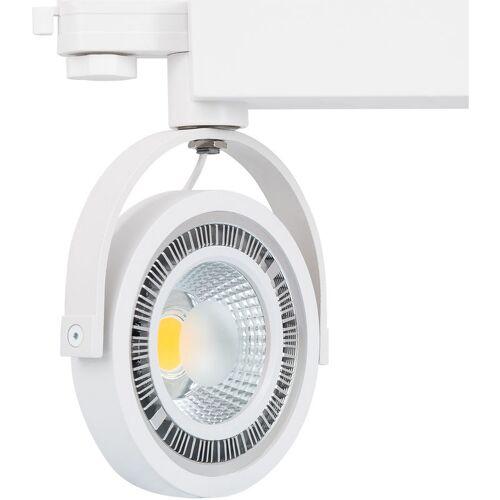 LEDKIA Strahler-Fassungen Für AR111 Dreiphasen Strahler für Glühbirnen Weiß