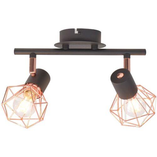 Vidaxl - Deckenlampe mit 2 LED-Glühlampen 8 W