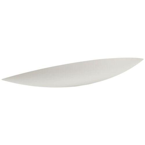 LINDBY Gipswandlampe Tommi in Weiß