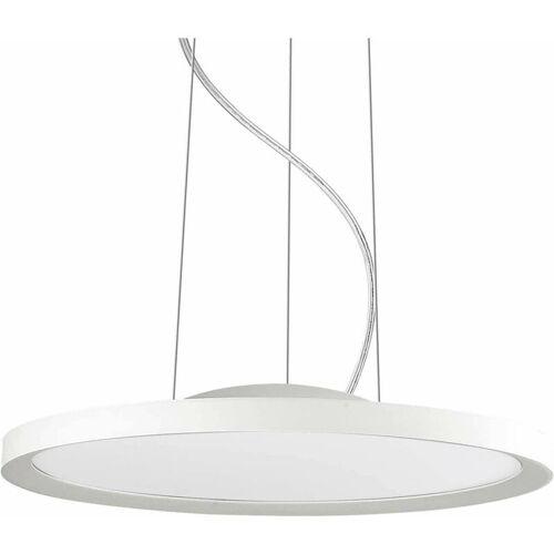 01-IDEAL LUX Weiße Pendelleuchte UFO 180 Glühbirnen