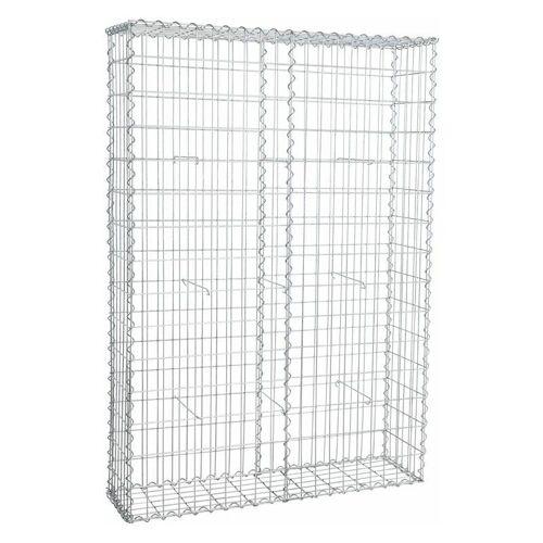 ESTEXO Gabione Steingabionen Steinkorb Gabionen Wand Drahtkorb 30 cm