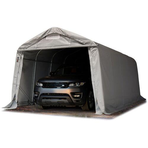 Profizelt24 - Garagenzelt Carport 3,3 x 6,0 m in grau Weidezelt