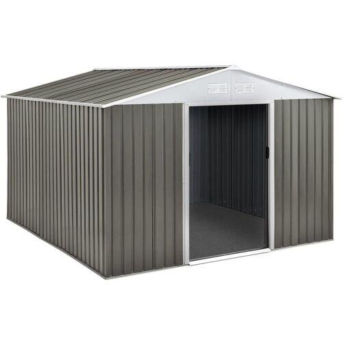 Habitat Et Jardin - Gartenhäus Gerätehaus aus Metall - 8,84 m²