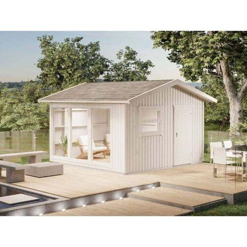ALPHOLZ Gartenhaus aus Holz-Elementhaus Molli , ohne Imprägnierung , ohne
