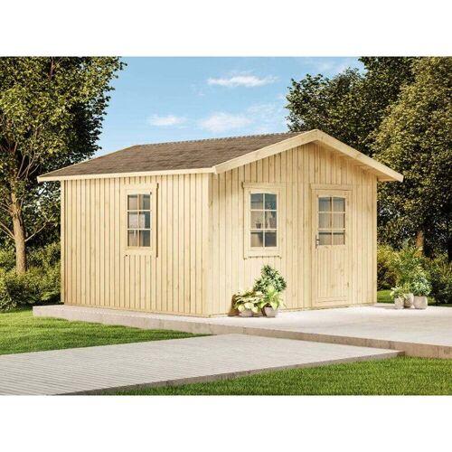 Alpholz - Gartenhaus aus Holz-Elementhaus Wolli , ohne Imprägnierung ,