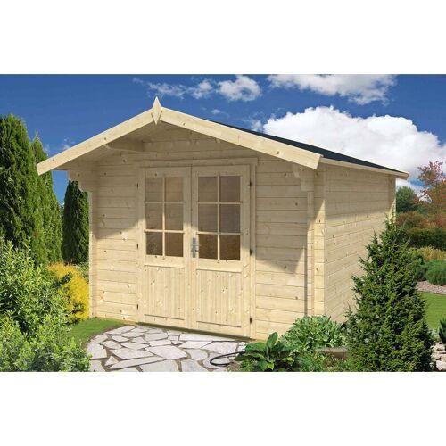 Alpholz - Gartenhaus aus Holz Nele-44 ISO , mit Imprägnierung ,