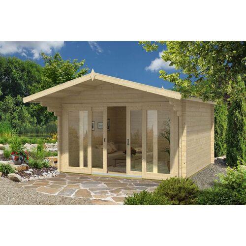 Alpholz - Gartenhaus aus Holz Neva 44 ISO , ohne Imprägnierung , ohne