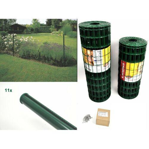 BETAFENCE Gitterzaun Pantanet® Family grün 1830 mm x 25 m Komplett-Set 2