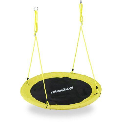 RELAXDAYS Nestschaukel, Outdoor Schaukel für Kinder & Erwachsene, Ø 110 cm, bis