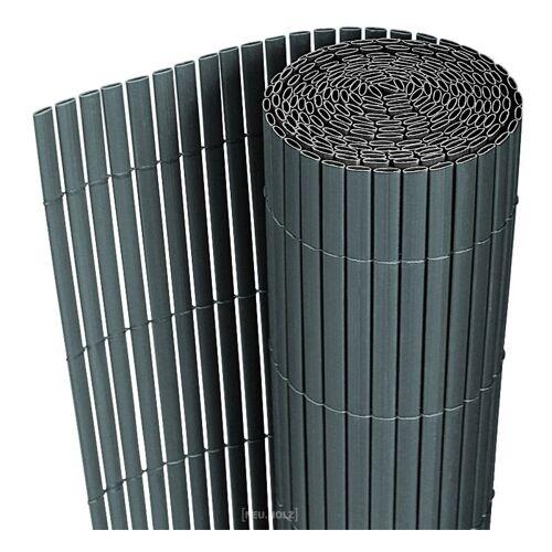 [NEU.HAUS] Sichtschutzmatte 150x300 cm PVC Grau