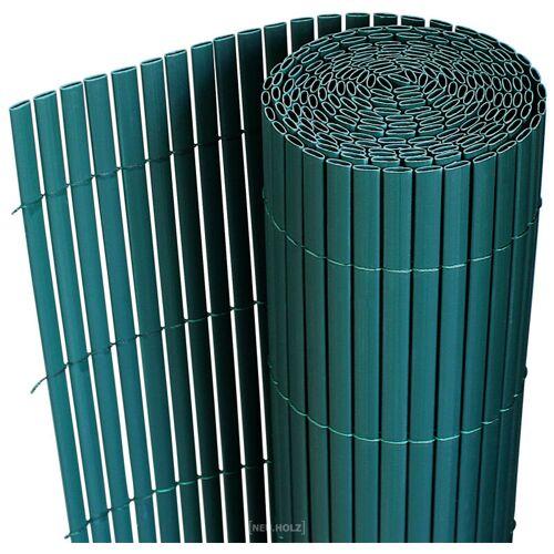[NEU.HAUS] Sichtschutzmatte 90x300 cm PVC Grün