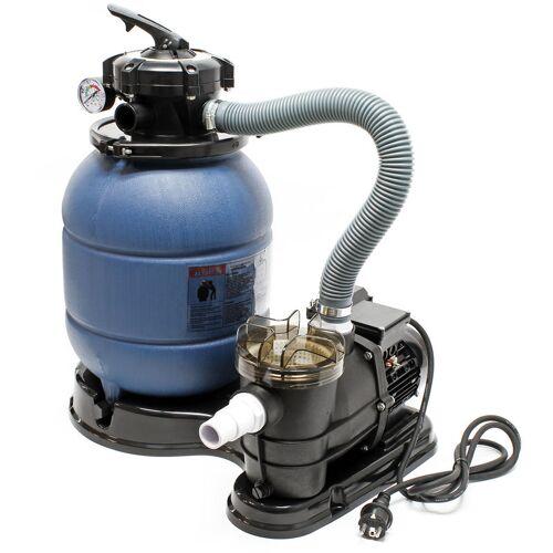 Wiltec - Sandfilter Filteranlage Sandfilteranlage Poolfilter Pumpe