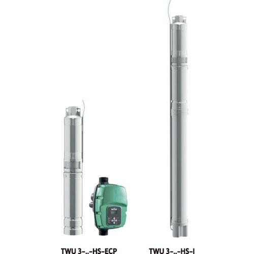 Wilo Unterwassermotor-Pumpe Sub TWU 3.02-09-HS-ECP-B, Rp 1?, 1.5kW