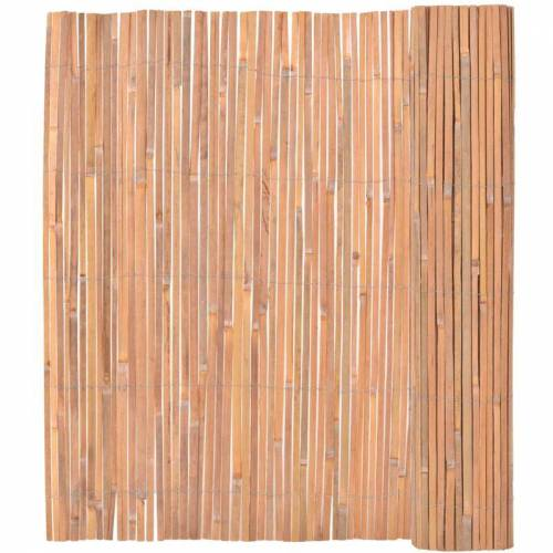 YOUTHUP Bambuszaun 150×400 cm Sichtschutz und Windschutz Zäune und Sichtschutz
