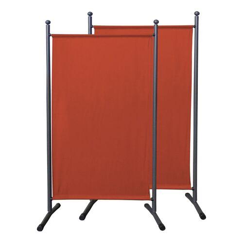 Quick-Star 2 Stück Paravent 180 x 78 cm Stoff Raumteiler Klein Stellwand Trennwand