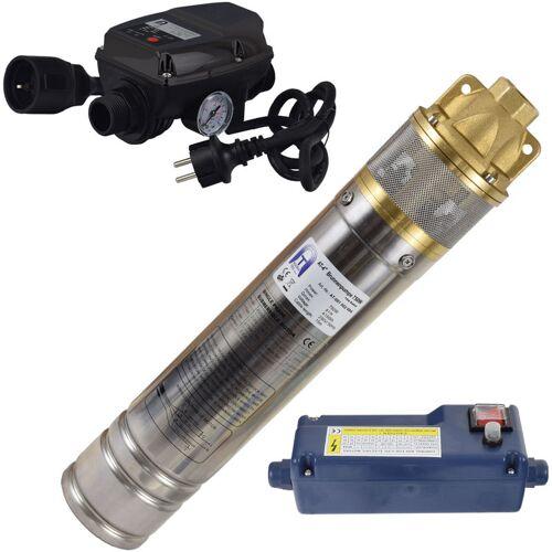 Agora-Tec® 4 Zoll 750-5DW Hochdruck Tauchpumpe für Zisternen und