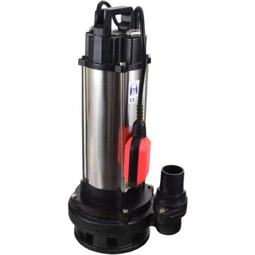 AGORA-TEC ® Bau-, Abwasser- und Schmutzwasserpumpe 1500W 10m Kabel - Agora-tec
