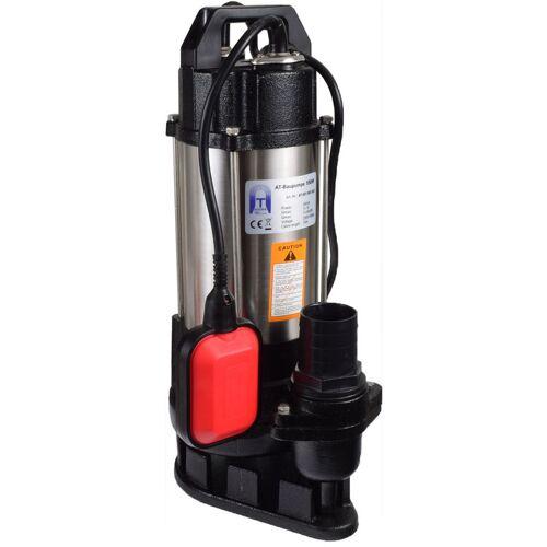AGORA-TEC ® Bau-, Abwasser- und Schmutzwasserpumpe 550W 10m Kabel - Agora-tec
