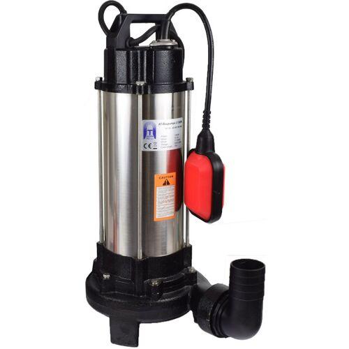 Agora-Tec® Bau-, Abwasser- und Schmutzwasserpumpe C 1300W (mit