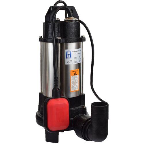 Agora-Tec® Bau-, Abwasser- und Schmutzwasserpumpe-C 750W (mit