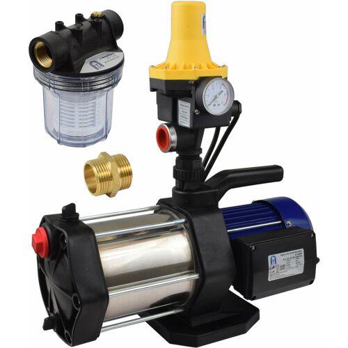 Agora-Tec® Hauswasserautomat Hauswasserwerk-5-1300-3DW-1L mit