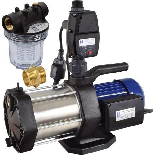 Agora-Tec® Hauswasserautomat Hauswasserwerk-5-1300-5DW-1L mit