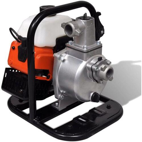 YOUTHUP Benzinbetriebene Wasserpumpe 2 Takt 1,45 kW 0,95 l