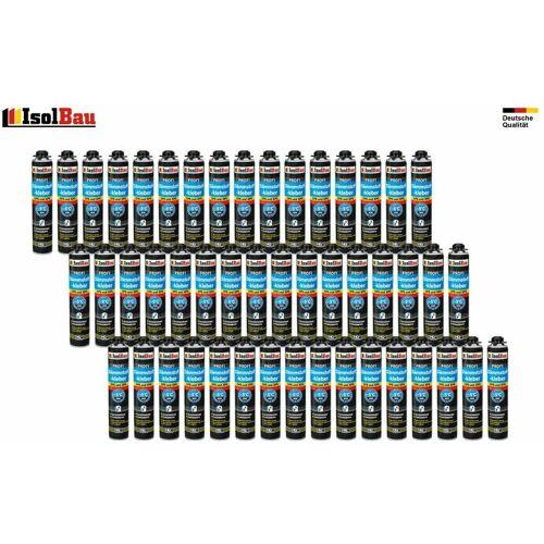 ISOLBAU Dämmstoffkleber Klebeschaum 48 x 750ml Kleber für Dämmung EPS XPS
