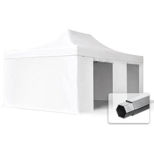 Profizelt24 - ALU Pavillon Faltpavillon 4x6m ohne Fenster robust und