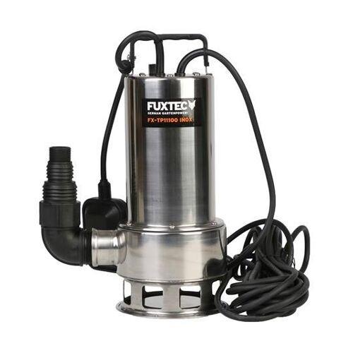 FUXTEC Tauchpumpe - Schmutzwasserpumpe FX-TP11000 INOX (Edelstahl)