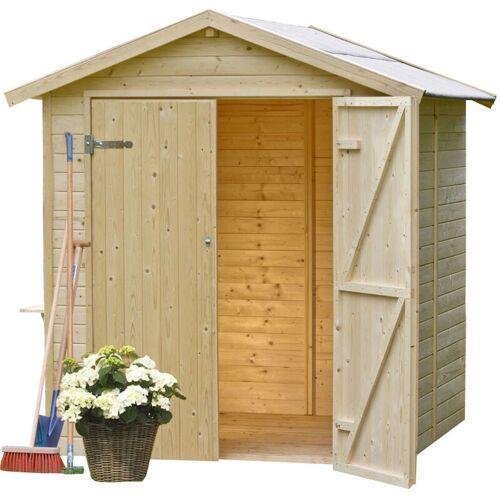 Gardiun Gartenhaus Aus Holzpaneelen Daniel 4 M² Außenfläche 200 cm x