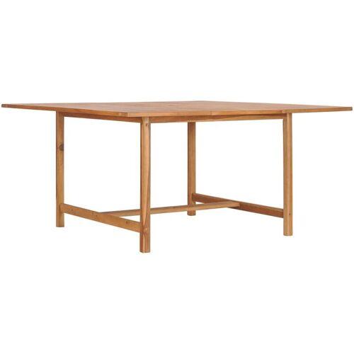 Vidaxl - Gartentisch 150 x 150 x 76 cm Massivholz Teak