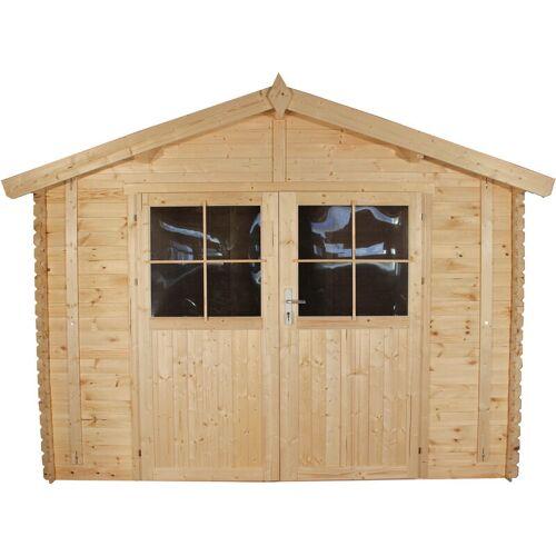 TIMBELA Holzhaus Gartenhaus TIMBELA M375A+M375AG - Gartenschuppen Holz mit