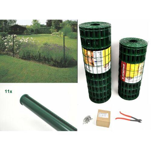 BETAFENCE Gitterzaun Pantanet® Family grün 1020 mm x 25 m Komplett-Set 1