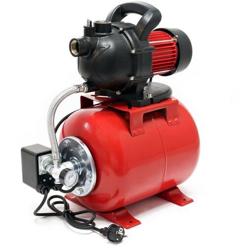 Wiltec - Hauswasserwerk Gartenpumpe 1000 Watt 3500 l/h mit