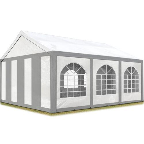 Profizelt24 - Hochwertiges Partyzelt 4x6 m Pavillon Zelt 240g/m² PE