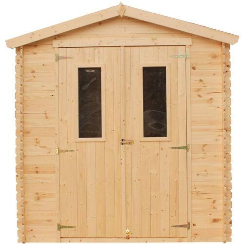 TIMBELA Holzhaus Gartenhaus TIMBELA M343C - Gartenschuppen Holz B216xL206xH218