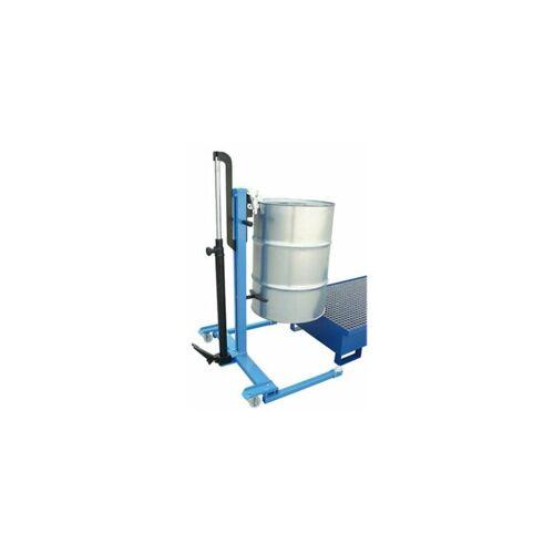 CERTEO Hydraulischer Fassheber   Certeo Fass Fässer Metallfässer