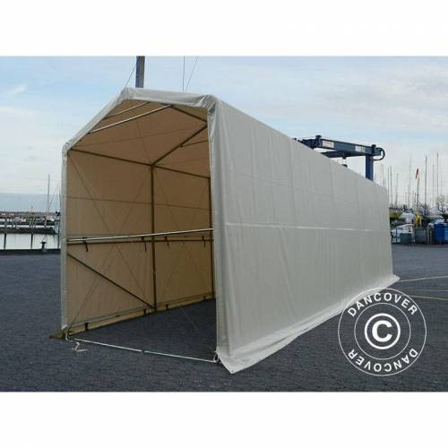 DANCOVER Lagerzelt PRO XL Bootszelt Zeltgarage PRO Lagehalle XL