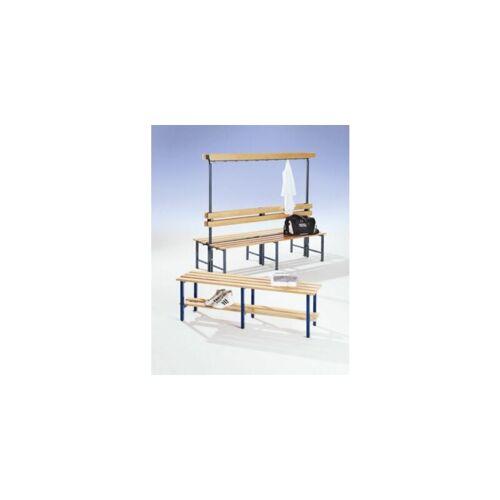 MELZER METALLBAU Garderobenbank mit Hakenleiste und Holzleisten - ohne - Melzer Metallbau