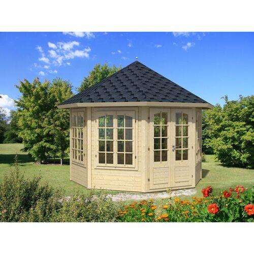 Palmako Gartenpavillon Veronica-7 9,2 m² , ohne Imprägnierung , ohne