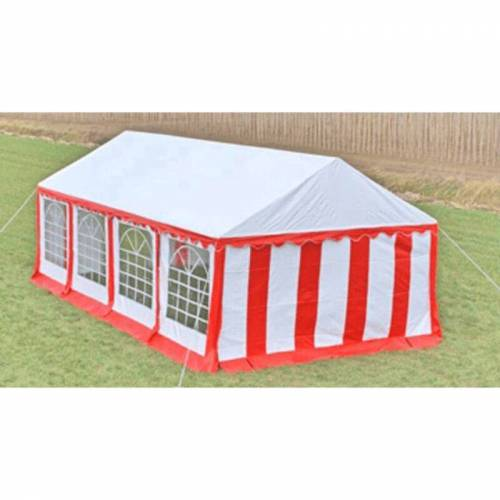 Vidaxl - Partyzelt 8 x 4 m Rot