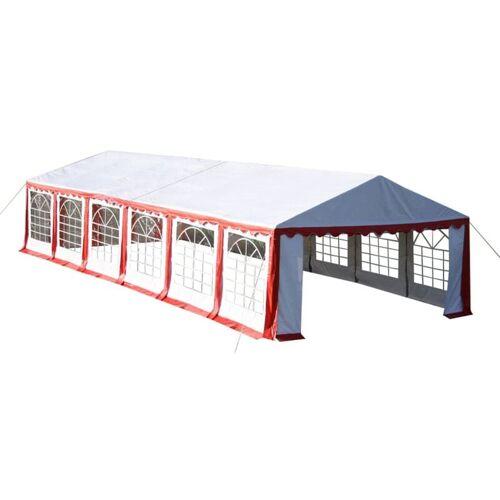 Vidaxl - Partyzelt 12 x 6 m Rot