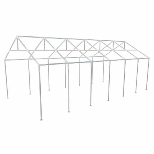 VIDAXL Stahlrahmen für Partyzelt 12x6m